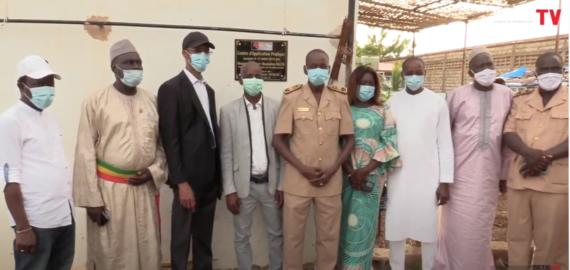 Tambacounda : Visite du Ministre des Pêches et de l'Economie Maritime Alioune Ndoye